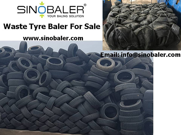 Waste Tyre Baler For Sale