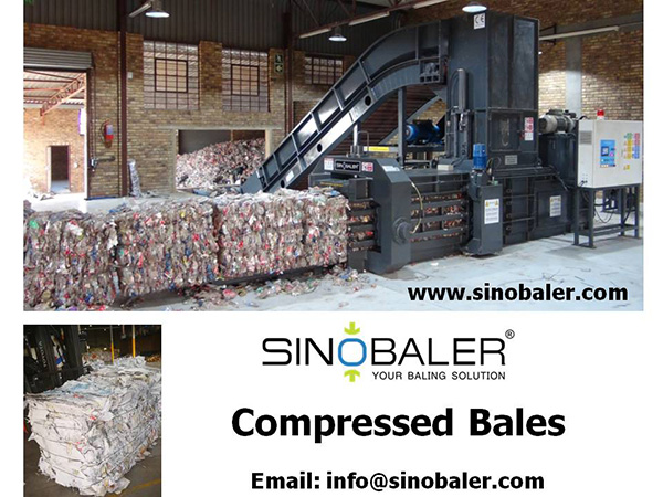 Compressed Bales from a Baler