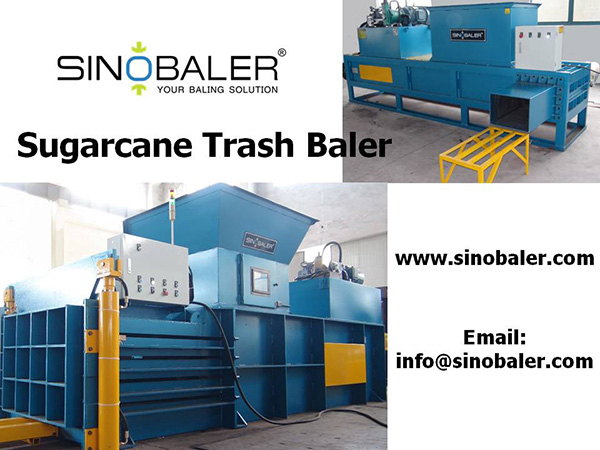 Sugarcane Trash Baler Machine