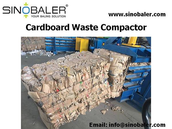 Cardboard Waste Compactor