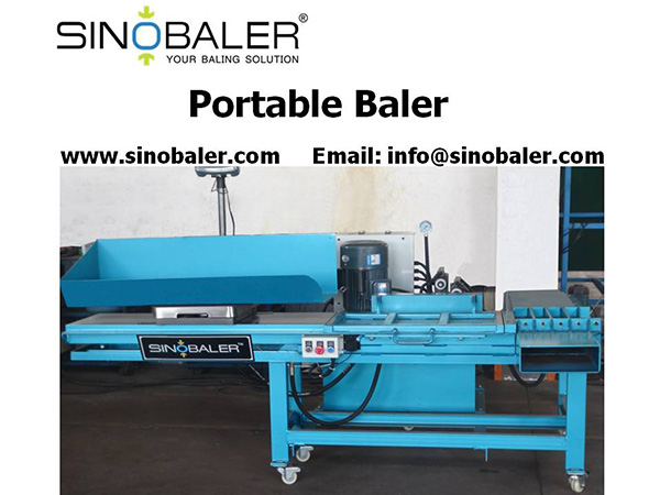 Portable Baler Machine