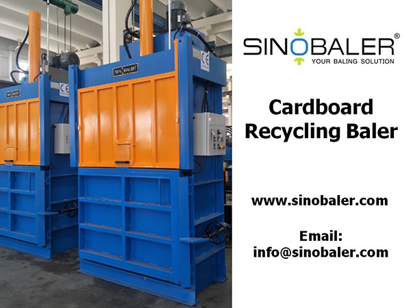 Cardboard Recycling Baler Machine