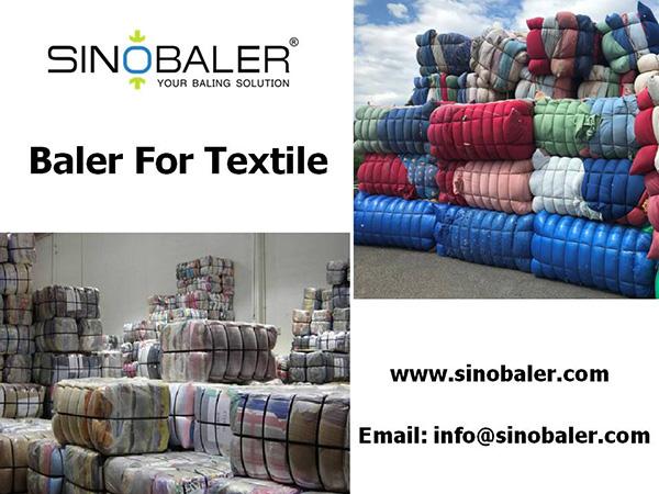 Baler For Textile