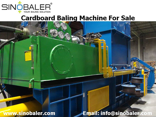 Cardboard Baling Machine For Sale