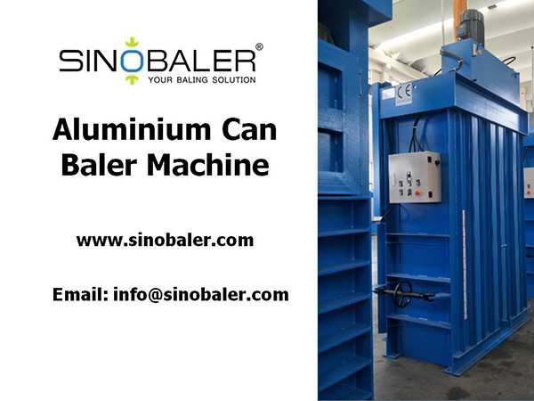 Aluminium Can Baler Machine