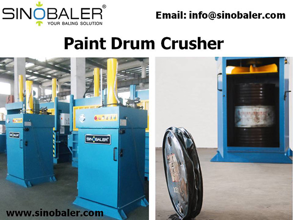 Paint Drum Crusher