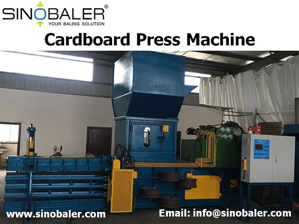 Cardboard Press Machine