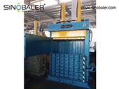 Heavy duty dual ram baler from SINOBALER