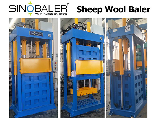 Sheep Wool Baler Machine