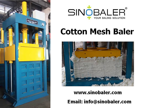 Cotton Mesh Baler Machine