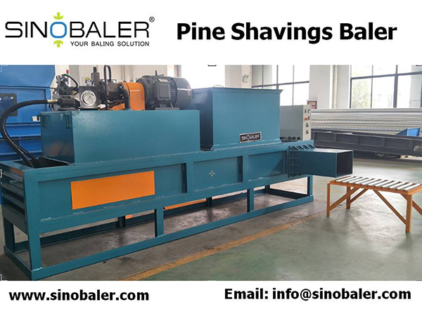 Pine Shavings Baler Machine