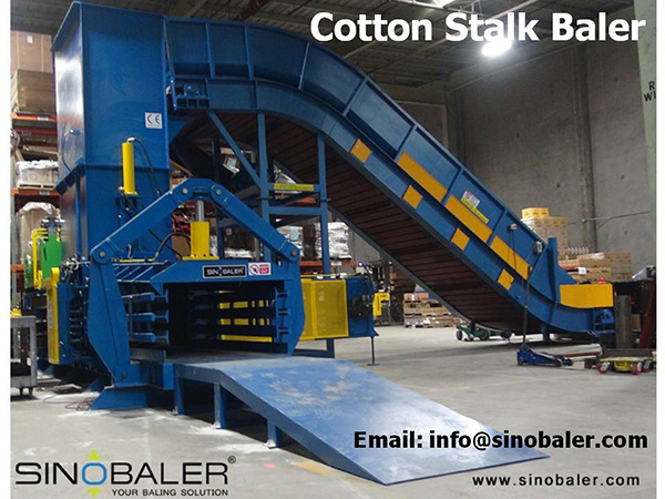 Cotton Stalk Baler Machine