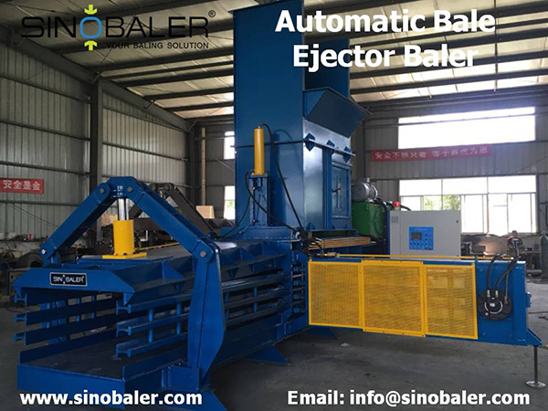 Automatic Bale Ejector Baler Machine