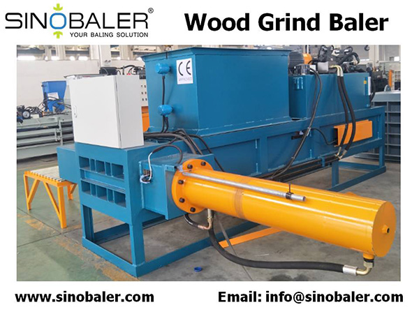 Wood Grind Baler For Sale
