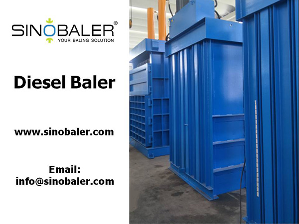 Diesel Baler Machine