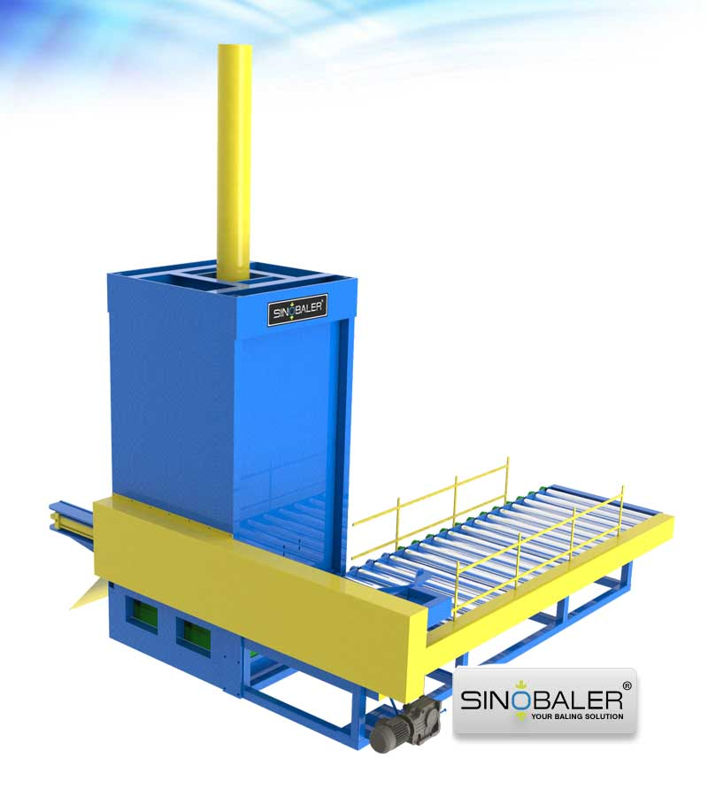 Automatic Drum Crusher Set, Auto Drum Crushing Machine - SINOBALER
