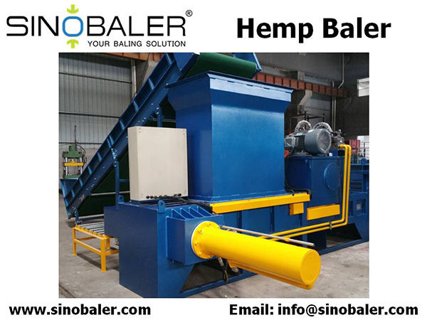 Hemp Baler Machine