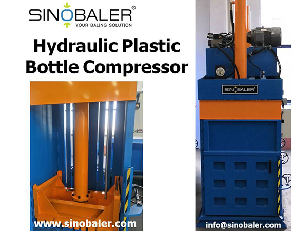 Hydraulic Plastic Bottle Compressor Machine