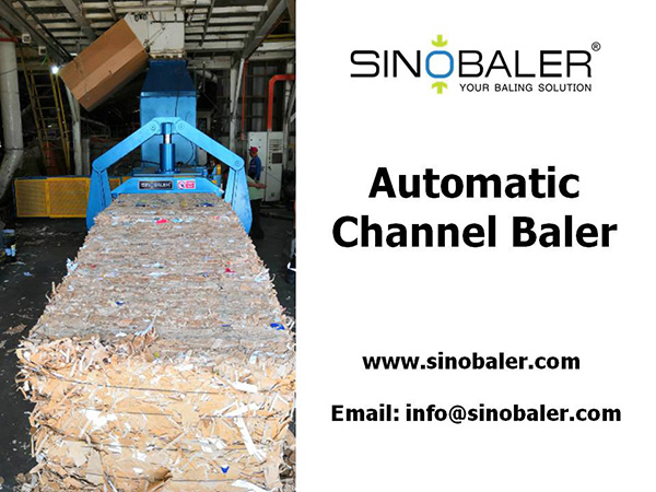 Automatic Channel Baler Machine