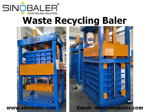 Waste Recycling Baler Machine