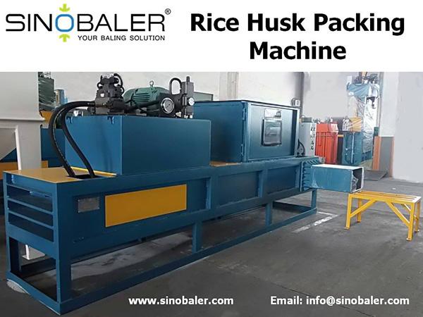 Rice Husk Packing Machine