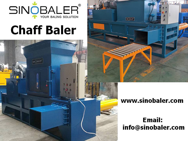Chaff Baler Machine