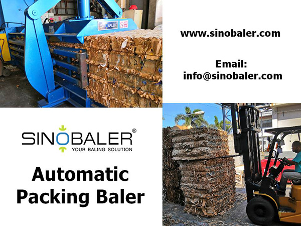 Automatic Packing Baler Machine