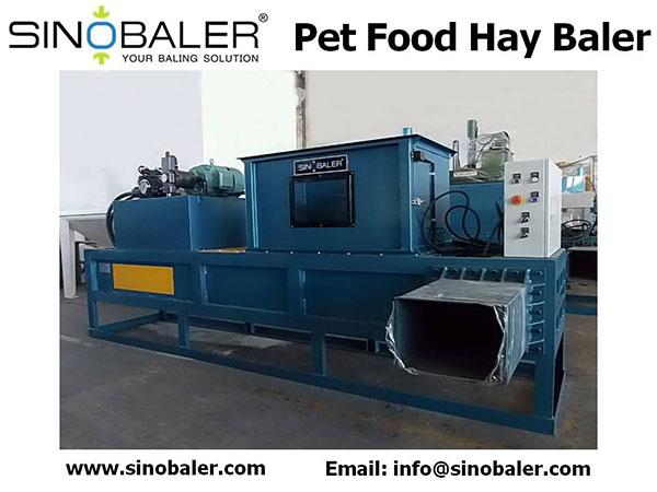 Pet Food Hay Baler Machine