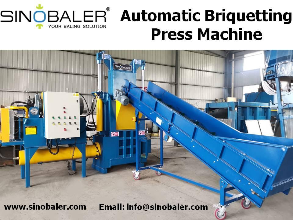 Automatic Briquetting Press Machine