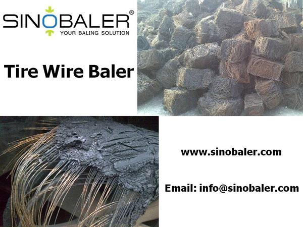 Tire Wire Baler Machine