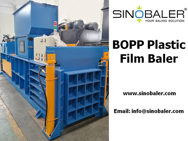 BOPP Plastic Film Baler Machine