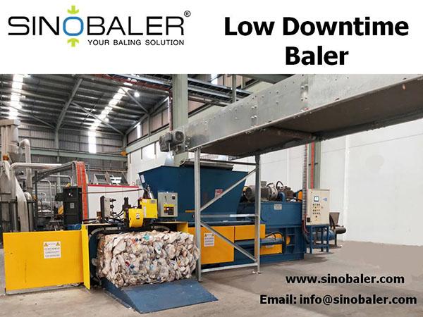 Low Downtime Baler Machine
