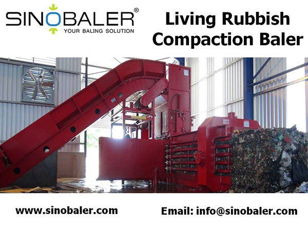 Living Rubbish Compaction Baler