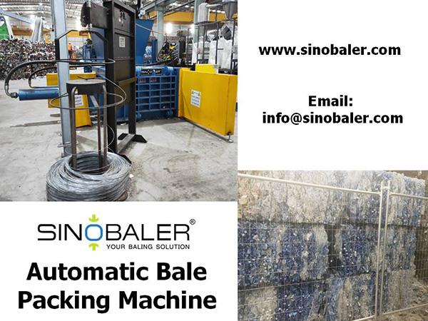 Automatic Bale Packing Machine