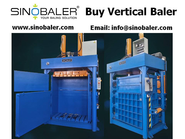 Buy Vertical Baler Machine