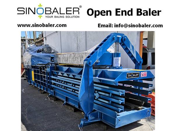 Open End Baler Machine