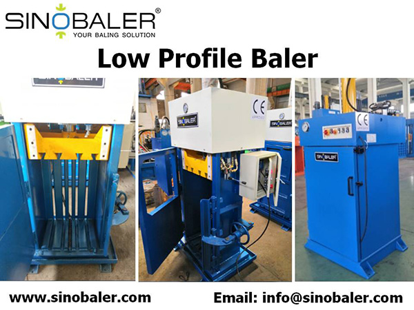 Low Profile Baler Machine, Low Profile Baling Press Machine For Sale