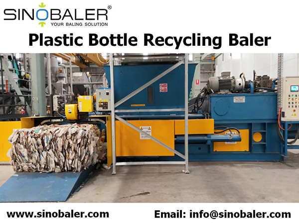 Plastic Bottle Recycling Baler Machine