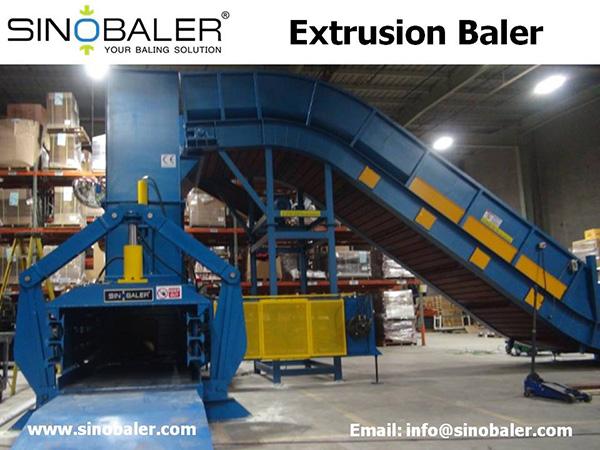 Extrusion Baler Machine