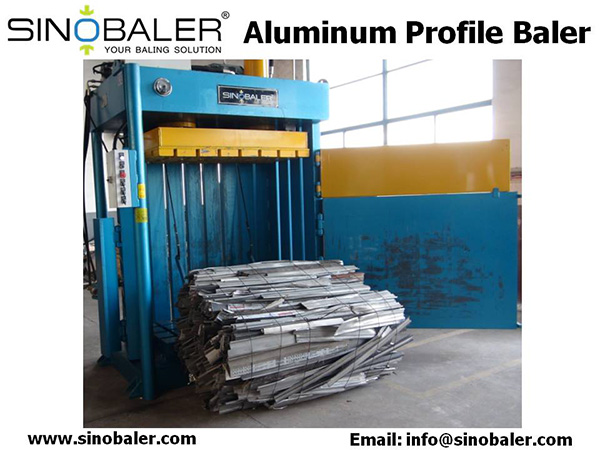 Aluminum Profile Baler Machine