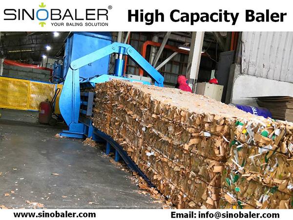 High Capacity Baler Machine