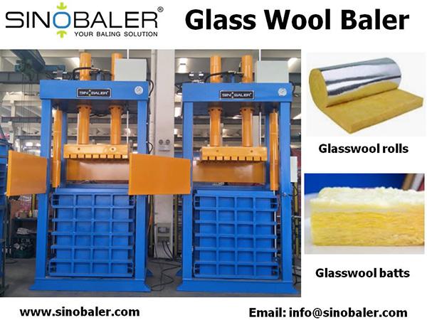 Glass Wool Baler Machine