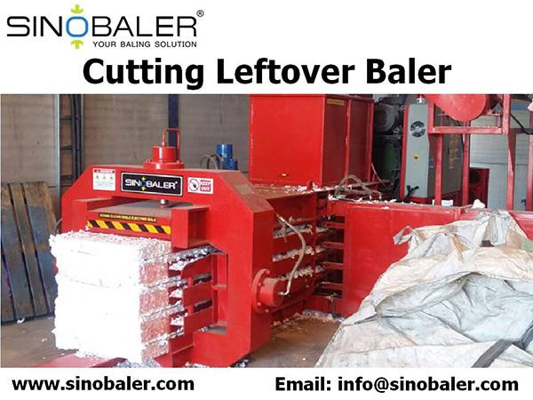 Cutting Leftover Baler Machine