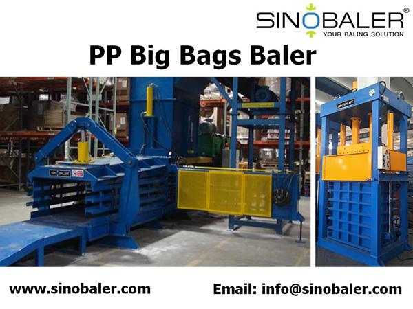 PP Big Bags Baler Machine