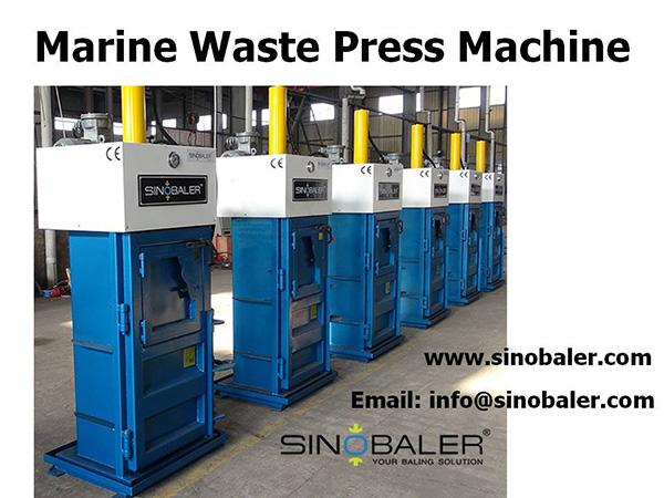 Marine Waste Press Machine