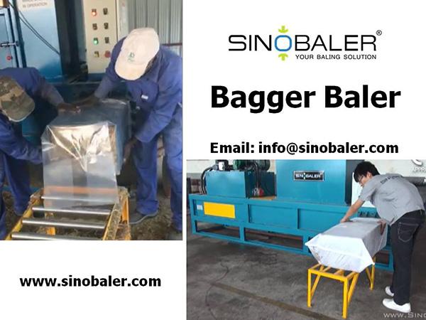 Bagger Baler Machine
