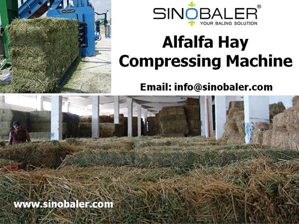 Alfalfa Hay Compressing Machine