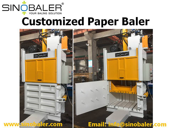 Customized Paper Baler Machine