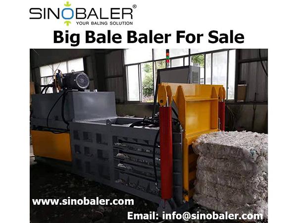 Big Bale Baler For Sale