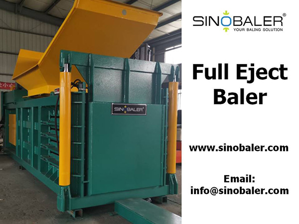 Full Eject Baler Machine